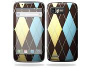 Mightyskins Protective Skin Decal Cover for Motorola Atrix 2 II (version 2) Cell Phone Sticker Argyle