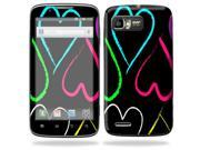 Mightyskins Protective Skin Decal Cover for Motorola Atrix 2 II (version 2) Cell Phone Sticker Hearts