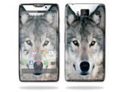 Mightyskins Protective Skin Decal Cover for Motorola Droid Razr Hd & Razr Maxx HD Cell Phone wrap sticker skins Wolf