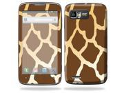 Mightyskins Protective Skin Decal Cover for Motorola Atrix 2 II (version 2) Cell Phone Sticker Giraffe