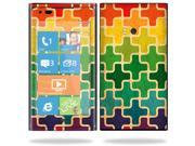 Mightyskins Protective Vinyl Skin Decal Cover for Nokia Lumia 900 4G Windows Phone AT&T Cell Phone wrap sticker skins Color Swatch
