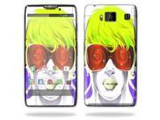 Mightyskins Protective Skin Decal Cover for Motorola Droid Razr Hd & Razr Maxx HD Cell Phone wrap sticker skins Spin
