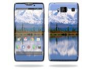 Mightyskins Protective Skin Decal Cover for Motorola Droid Razr Hd & Razr Maxx HD Cell Phone wrap sticker skins Mountains