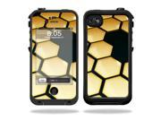 Mightyskins Protective Vinyl Skin Decal Cover for LifeProof iPhone 4 / 4S Case wrap sticker skins Honeycomb