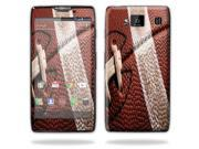 Mightyskins Protective Vinyl Skin Decal Cover for Motorola Droid Razr Maxx Android Smart Cell Phone wrap sticker skins - Football