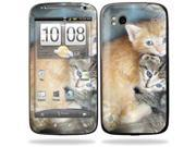 Mightyskins Protective Vinyl Skin Decal Cover for HTC Sensation 4G Cell Phone wrap sticker skins  - Kittens