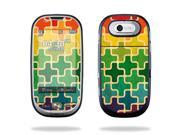 Mightyskins Protective Skin Decal Cover for Pantech Ease P2020 Cell Phone wrap sticker skins Color Swatch