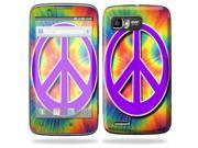 Mightyskins Protective Skin Decal Cover for Motorola Atrix 2 II (version 2) Cell Phone Sticker Hippie Time