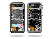 Mightyskins Protective Vinyl Skin Decal Cover for LifeProof iPhone 5C Case fre Case wrap sticker skins City Life