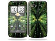 Mightyskins Protective Vinyl Skin Decal Cover for HTC Sensation 4G Cell Phone wrap sticker skins  - Matrix