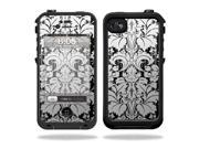 Mightyskins Protective Vinyl Skin Decal Cover for LifeProof iPhone 4 / 4S Case wrap sticker skins Floral Retro