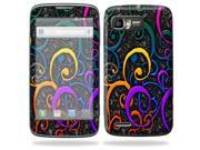 Mightyskins Protective Skin Decal Cover for Motorola Atrix 2 II (version 2) Cell Phone Sticker Color Swirls