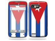 Mightyskins Protective Skin Decal Cover for Motorola Atrix 2 II (version 2) Cell Phone Sticker Cuban flag