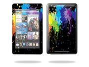 "Mightyskins Protective Skin Decal Cover for Google Nexus 7 tablet 7"" inch screen stickers skins Splatter"