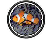 CLOWNFISH Wall Clock clown fish tank tropical aquarium