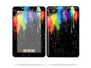 """Mightyskins Protective Skin Decal Cover for Lenovo IdeaPad A1 7"""" inch Tablet wrap sticker skins Splatter"""