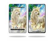 """Mightyskins Protective Skin Decal Cover for Asus Google Nexus 7 Tablet with 7"""" screen wrap sticker skins Unicorn"""