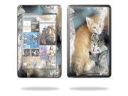 "Mightyskins Protective Skin Decal Cover for Google Nexus 7 tablet 7"" inch screen stickers skins Kittens"