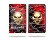 "Mightyskins Protective Skin Decal Cover for Asus Google Nexus 7 Tablet with 7"" screen wrap sticker skins Pure Evil"