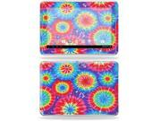 """Mightyskins Protective Skin Decal Cover for Samsung Galaxy Note 10.1"""" inch Tablet wrap sticker skins Tie Dye 1"""