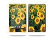 """Mightyskins Protective Skin Decal Cover for Asus Google Nexus 7 Tablet with 7"""" screen wrap sticker skins Sunflowers"""