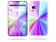Mightyskins Protective Vinyl Skin Decal Cover for Samsung Galaxy Player 5.0 MP3 Player Android WiFi wrap sticker skins Rainbow Zoom