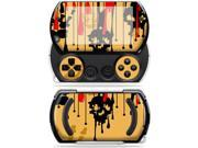 Mightyskins Protective Vinyl Skin Decal Cover for Sony PSP Go System wrap sticker skins Dripping Blood