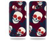 Skin Decal Wrap for Samsung Galaxy S7 Edge Case Skulls N Roses