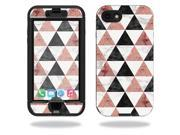 Skin Decal Wrap for Lifeproof Nuud iPhone 7 sticker Marble Pyramids