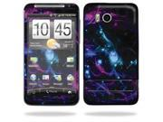 Skin Decal Wrap cover for HTC Thunderbolt Shattered Neon