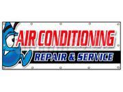 "48""""x120"""" AC REPAIR & SERVICE BANNER SIGN hvac air conditioning estimates finance"" 9SIA44334A0029"