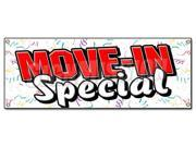 MOVE-IN-SPECIAL BANNER SIGN apartment rental rent storage free rent home house (9SIA4431BZ4732 766897885242 SignMission) photo