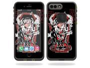 Skin Decal Wrap for Lifeproof iPhone 7 Plus Case fre sticker Crackula