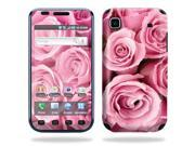 Skin Decal Wrap cover for Samsung Vibrant T959 Pink Roses 9SIA4431BT3822