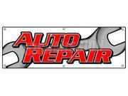 "72"""" AUTO REPAIR BANNER SIGN car shop mechanic oil change repairs ac service cars"" 9SIA4431BZ4680"