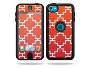 Skin Decal Wrap for OtterBox Defender iPod Touch 5G Case sticker Cross Hatch