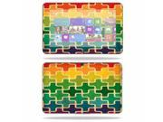 """Skin Decal Wrap for Dell XPS 10 Tablet 10.1"""""""" sticker Puzzle"""" 9SIA4431BP2449"""