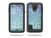 Skin Decal Wrap for LifeProof Samsung Galaxy S5 Case fre sticker Carved Blue