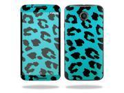Skin Decal Wrap for Motorola Google Nexus 6 sticker cover skins Teal Leopard