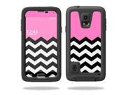Skin Decal Wrap for LifeProof Samsung Galaxy S5 Case Case Pink Chevron