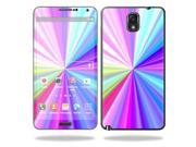 Skin Decal Wrap for Samsung Galaxy Note 3 N9000 sticker Rainbow Zoom