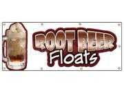 "36""""x96"""" ROOT BEER FLOATS BANNER SIGN rootbeer float mug signs cold drinks"" 9SIA4431BX4718"