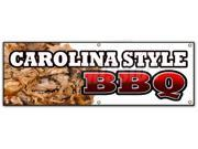 "72"""" CAROLINA STYLE BBQ BANNER SIGN beef brisket ribs pork barbque open"" 9SIA4433442444"