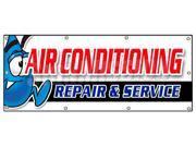 "36""""x96"""" AC REPAIR & SERVICE BANNER SIGN hvac air conditioning estimates finance"" 9SIA4433440431"