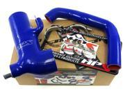 Scion 13-14 FRS HPS Blue High Temp Reinforced Silicone Post MAF Air Intake Hose + Sound Tube 2pc Kit