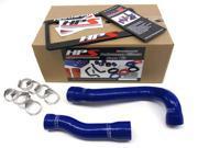 BMW 99-06 E46 323 325 328 330 M3 HPS Blue High Temp Reinforced Silicone Radiator Hose Kit Coolant