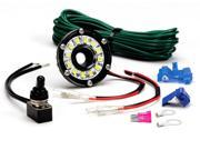 KC HiLites 350 Under Hood Cyclone LED Light Kit&#59; Universal&#59; Black&#59; 12V&#59; Kit Includes Clear Accessory