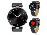 Indigi® Space Gray Metal Case Bluetooth SmartWatch Phone SIRI 3.0 Heart Rate >Great Gift