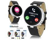 Indigi® Bluetooth SmartWatch For All iPhone Android Heart Rate Sensor SIRI Wrist Watch