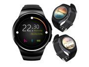 Indigi® Bluetooth 4.0 A18 SmartWatch & Phone - Android OS + Pedometer + Heart Monitor + Weather + Notification Sync [US Seller]